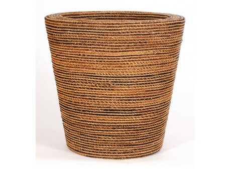 Round natural weave
