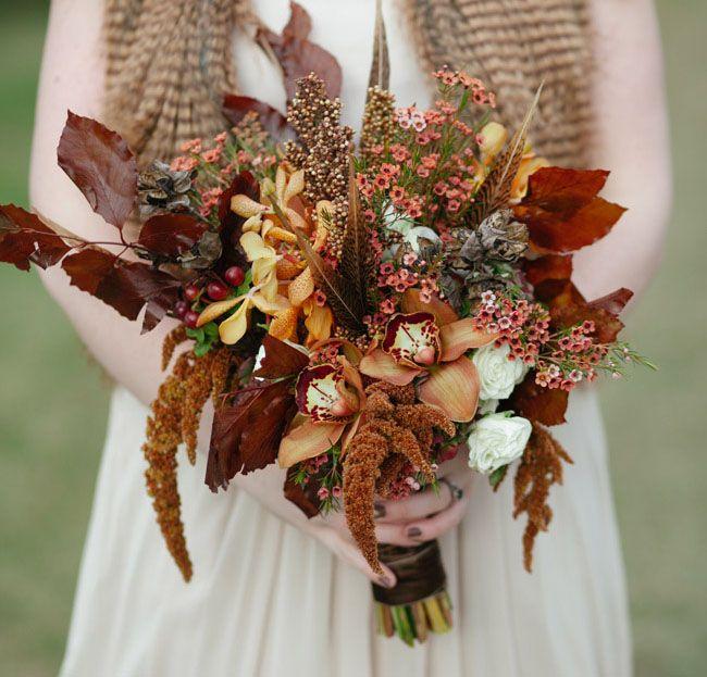 25 Autumn Inspired Wedding Flowers: (Netradičná) Jesenná Svadba